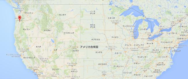オレゴン ポートランド - Google マップ