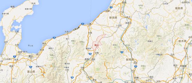 長野県飯山市 - Google マップ