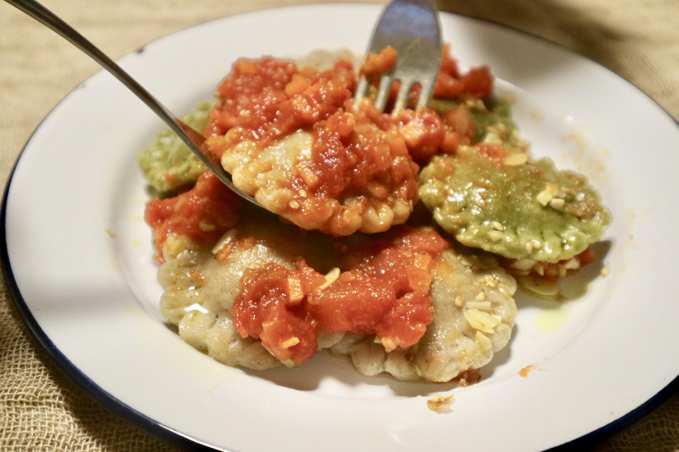 ラビオリ トマト2
