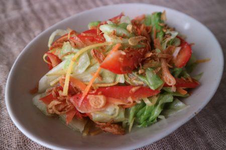 ヘンプオイル サラダ オニオン