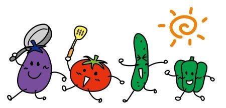 元気な野菜