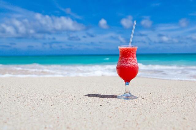 夏と飲み物