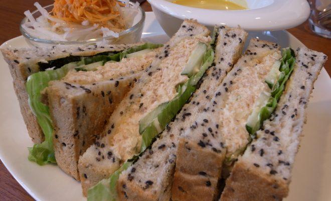 海苔ツナサンドイッチ