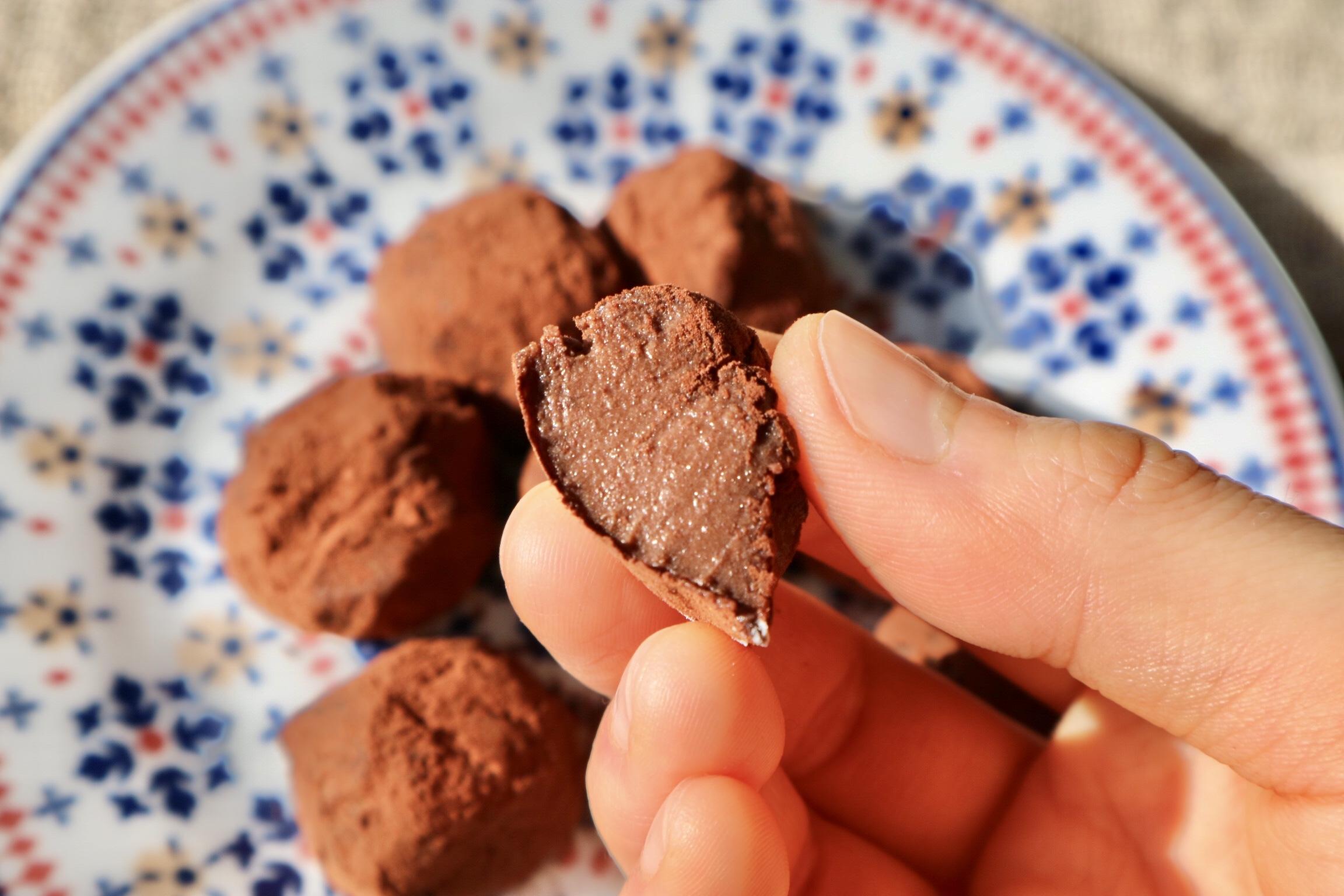 チョコ トリュフ2