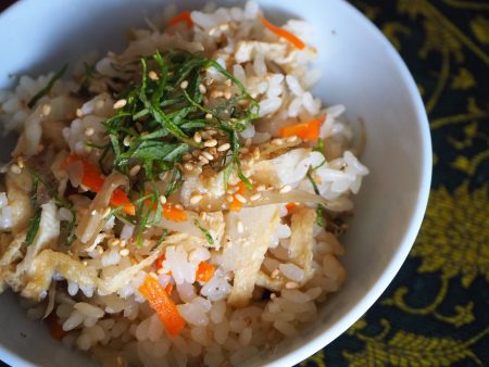 ごぼうご飯1