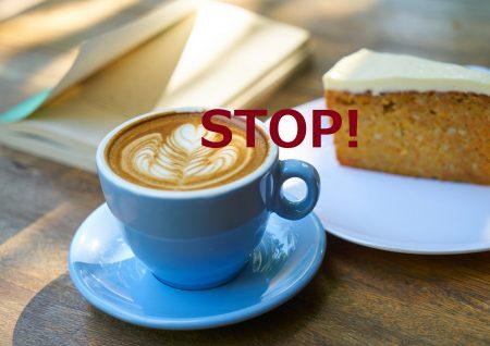 STOP ラテ&ケーキ