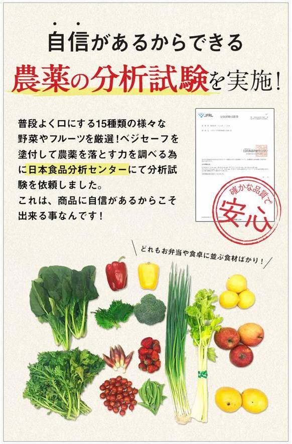 残留農薬試験