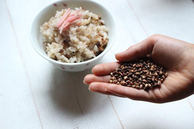 玄米粒 1