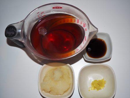 大根湯1材料