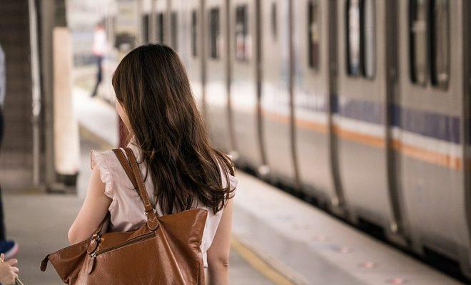 800px-Female_human_back_and_TRA_EMU700_at_Hsinchu_Station_20151114