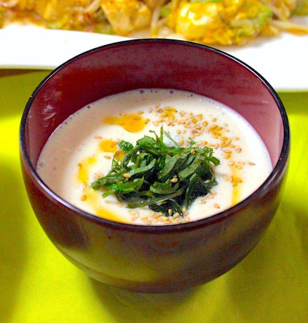 冷製味噌汁