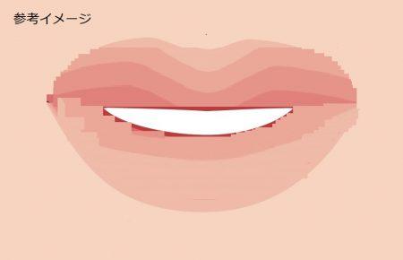 唇色薄い2