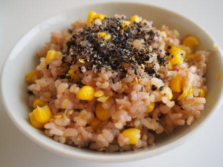 ご飯/w corn