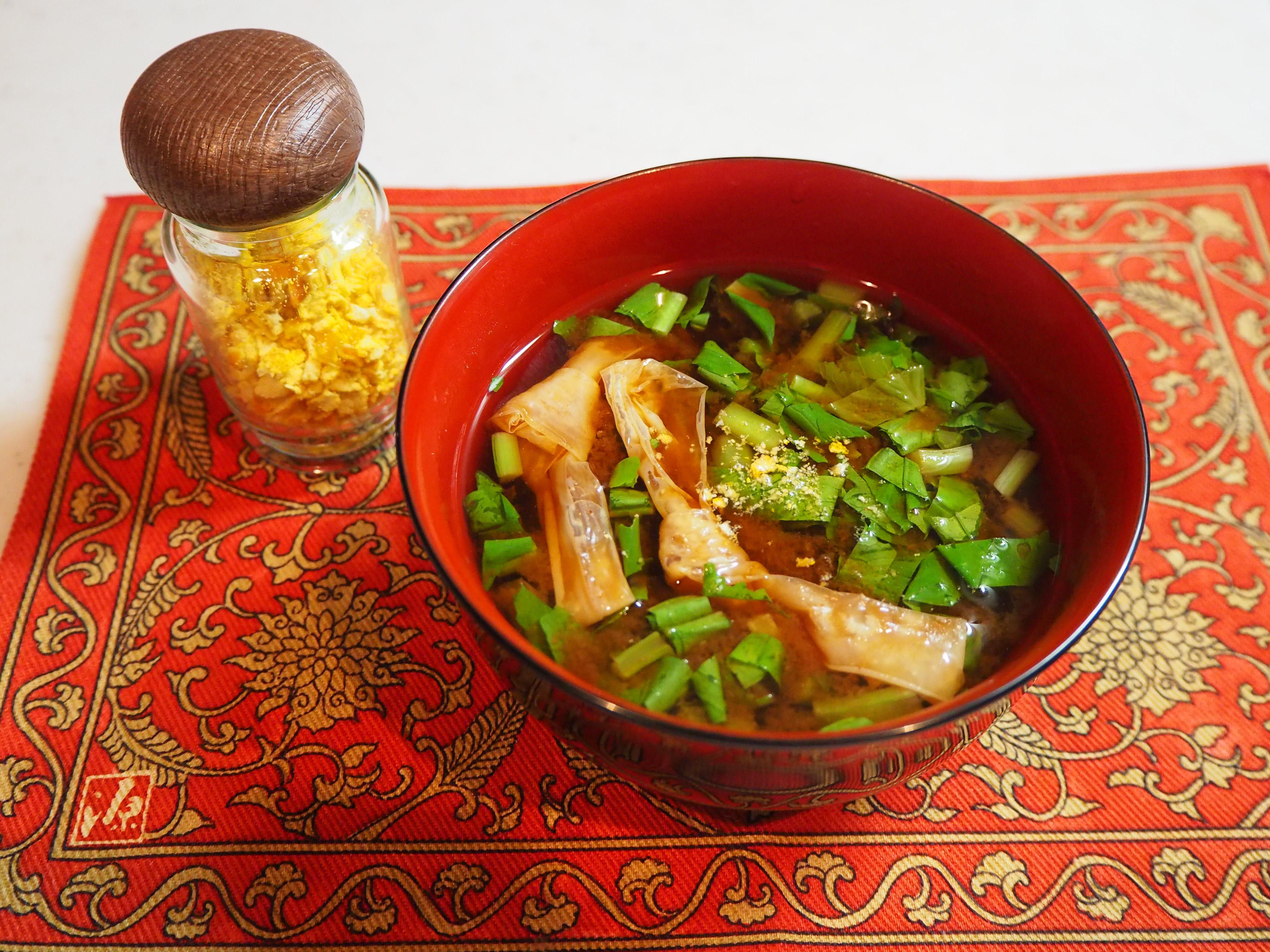 味噌汁陳皮