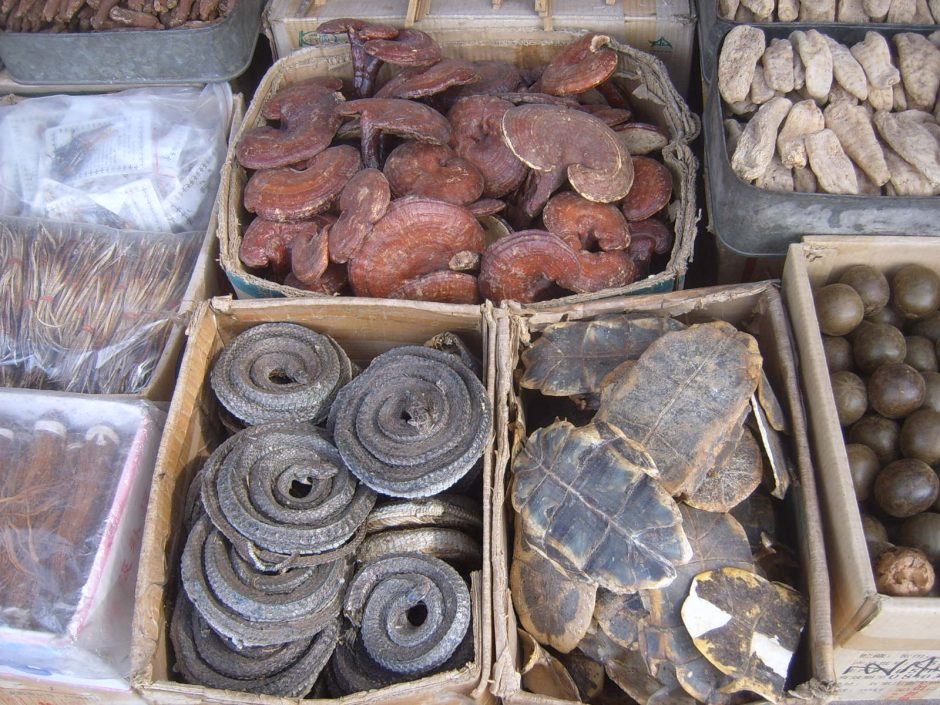 Traditional_Chinese_medicine_in_Xi'an_market