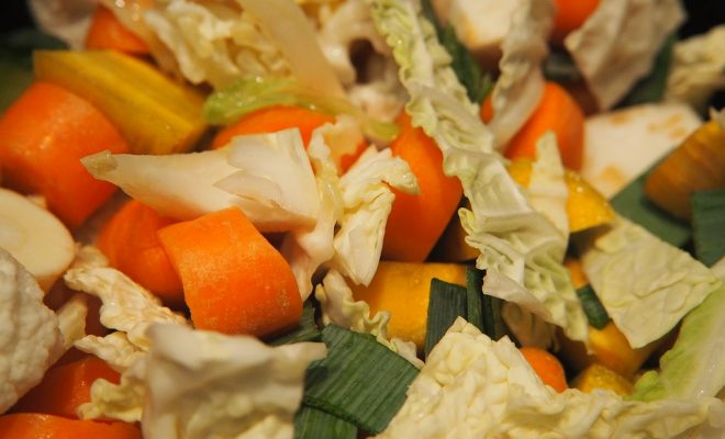 Vegetables Cut Carrots Vegetable Soup Leek