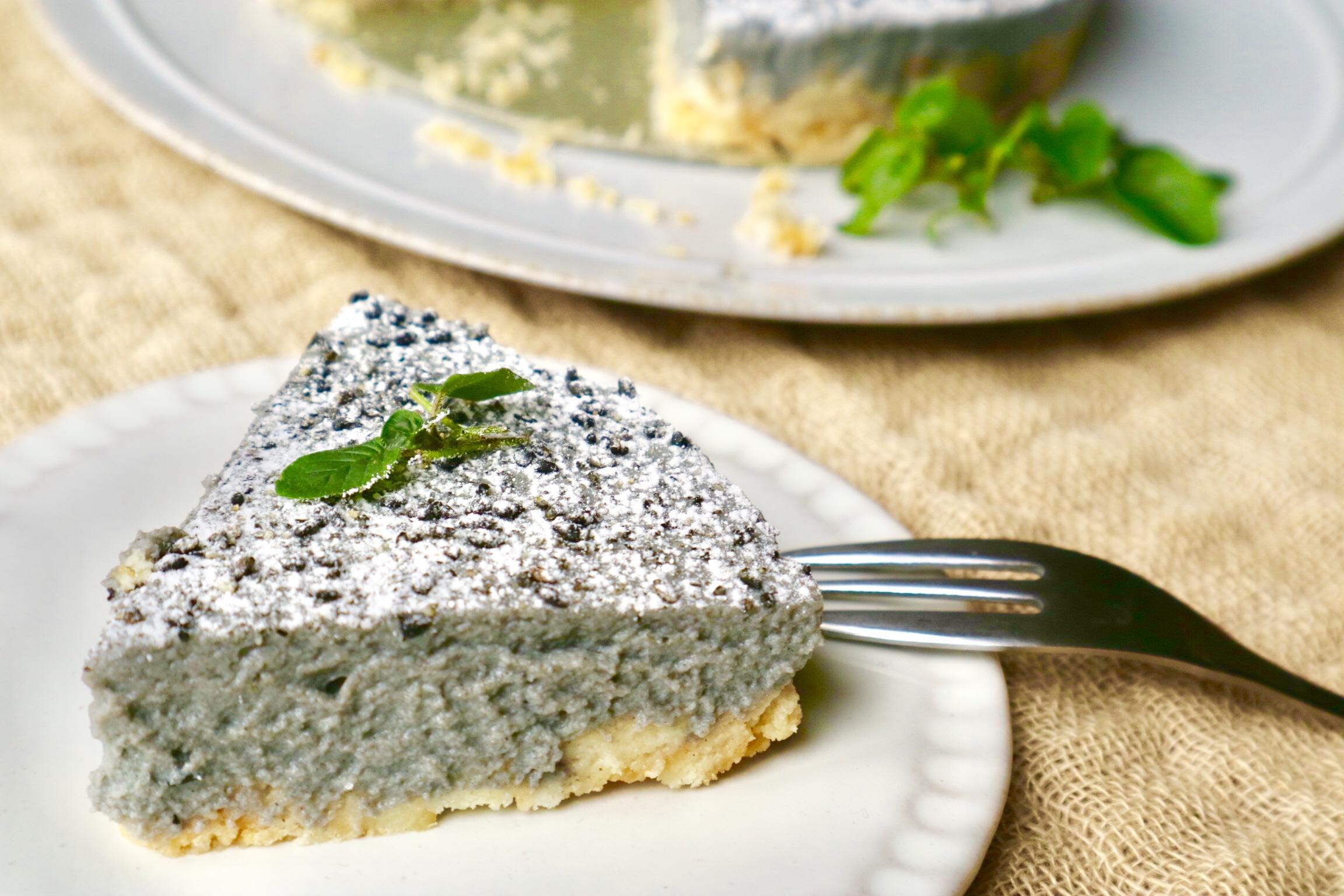 黒ごま ケーキ2