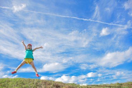 女の子ジャンプ