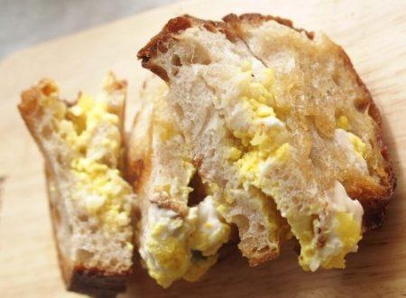 ベジ卵サンド焼き