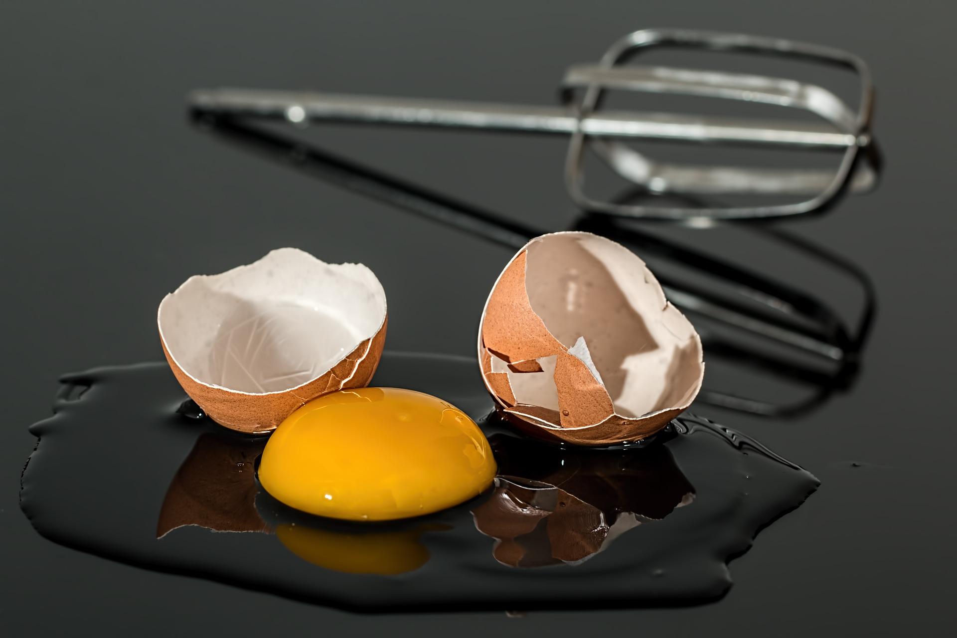 レンコン粉 卵2