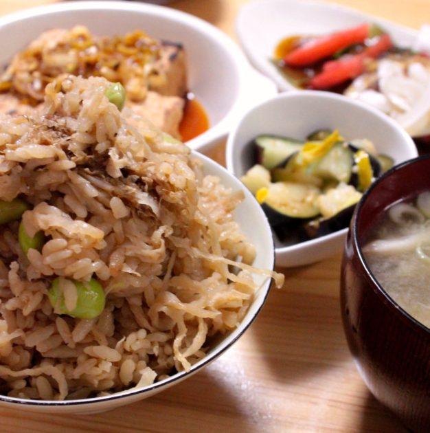 炊き込みご飯1
