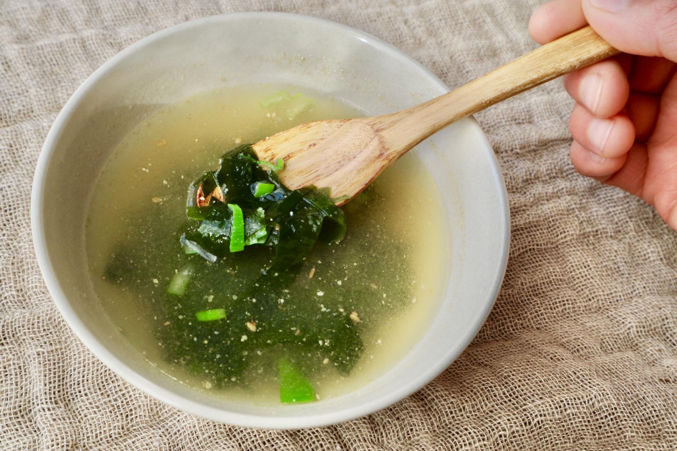 わかめ スープ