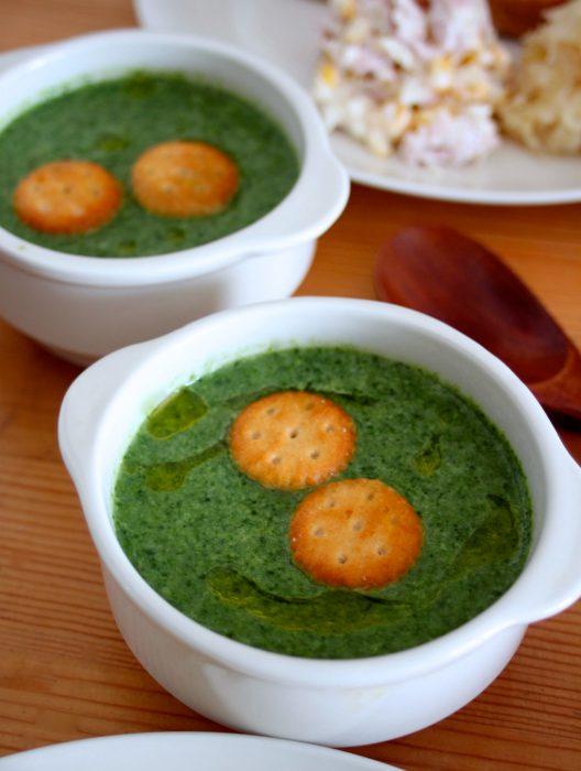 青菜ポタージュ1
