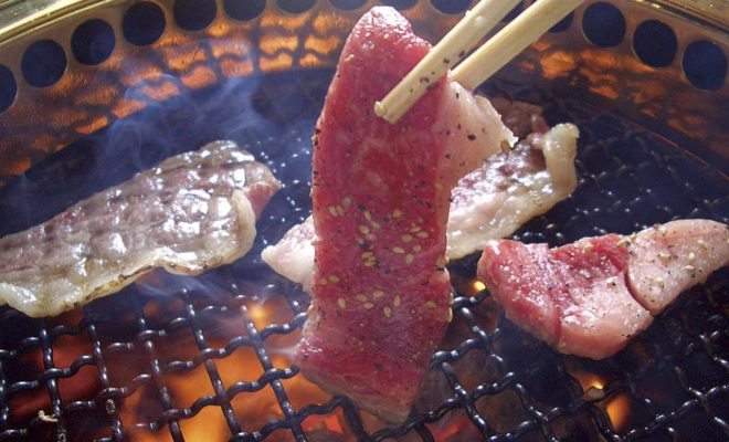 焼肉(カルビ)