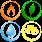 four-elements-vector-graphic
