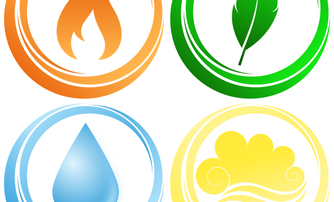 four-elements-vector-graphic