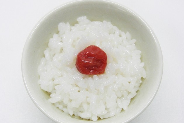 rice-and-umeboshi