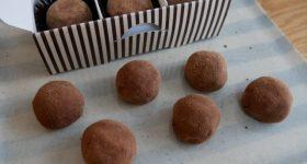 【チョコレート・生クリーム・バター不使用】秋冬の煮物でおなじみの「里芋」で作る!「ねっとり濃厚チョコトリュフ」の作り方