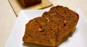 完全シュガーフリーでハロウィンパーティーにもおすすめ!スパイス薫るかぼちゃパウンドケーキの作り方。