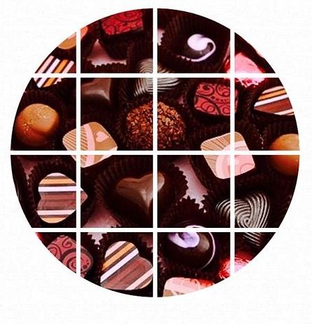 チョコレート6_○囲み