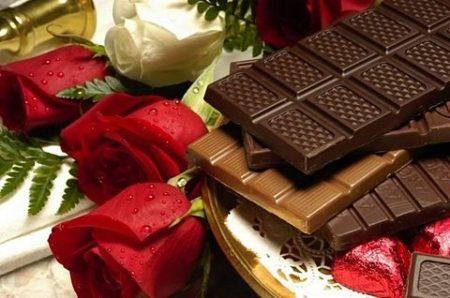チョコレート8_&花