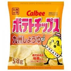 九州醤油ポテチ