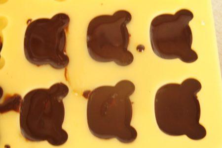 チョコ型つめ