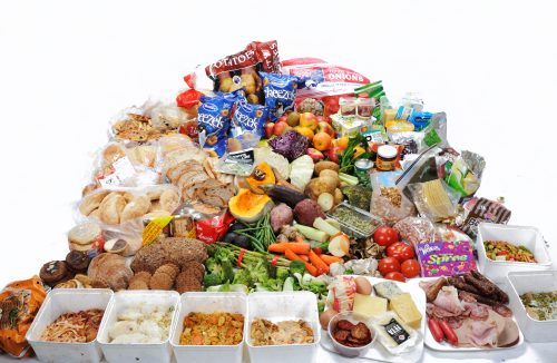 42.4 kg of food found in new zealand household rubbish bins