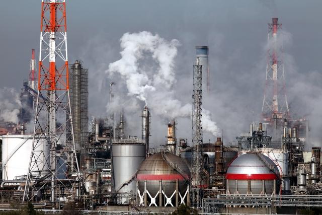 工業地帯大気汚染コンビナート