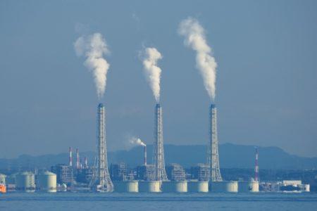 火力発電所画像