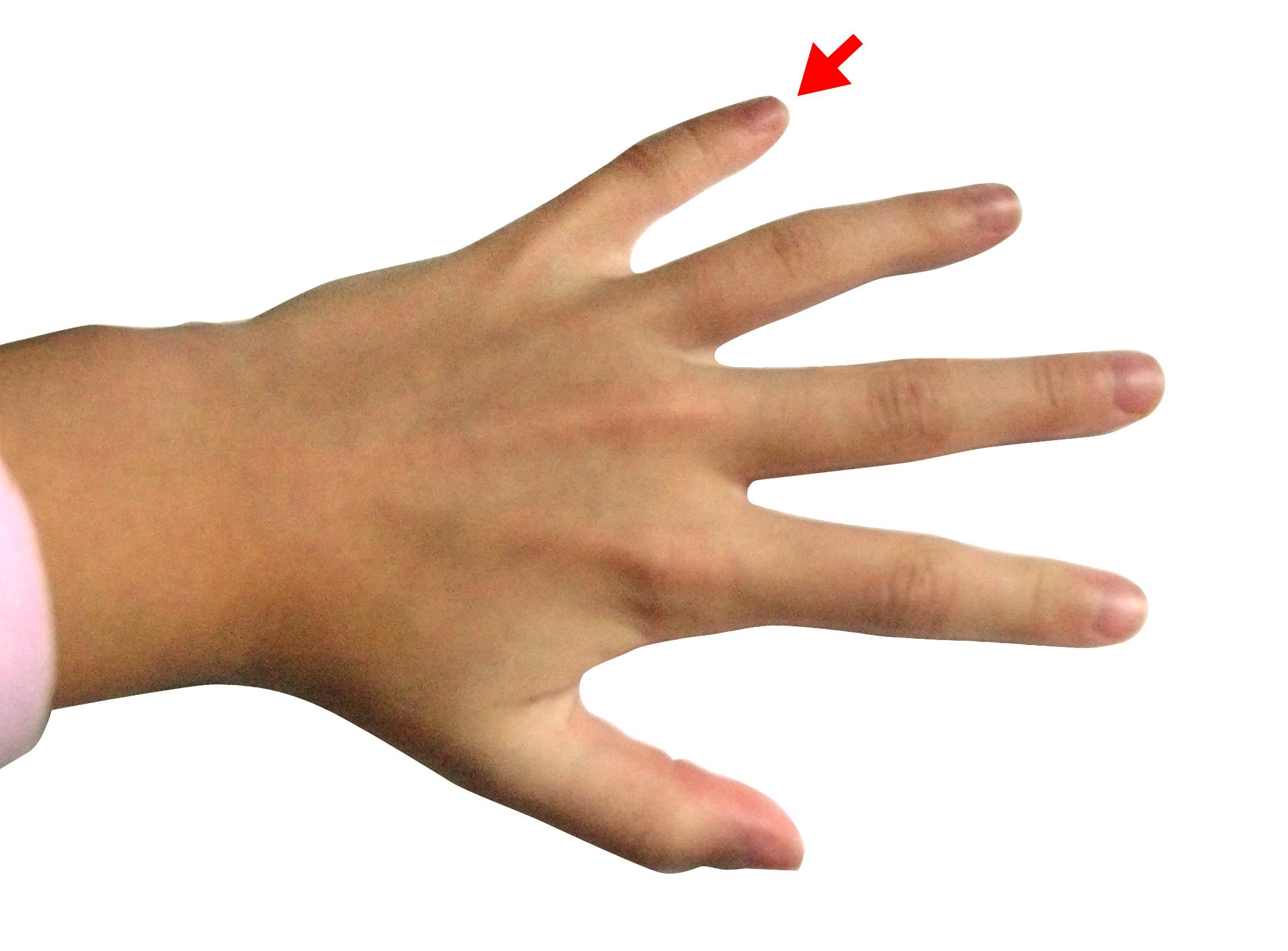 hand   little finger