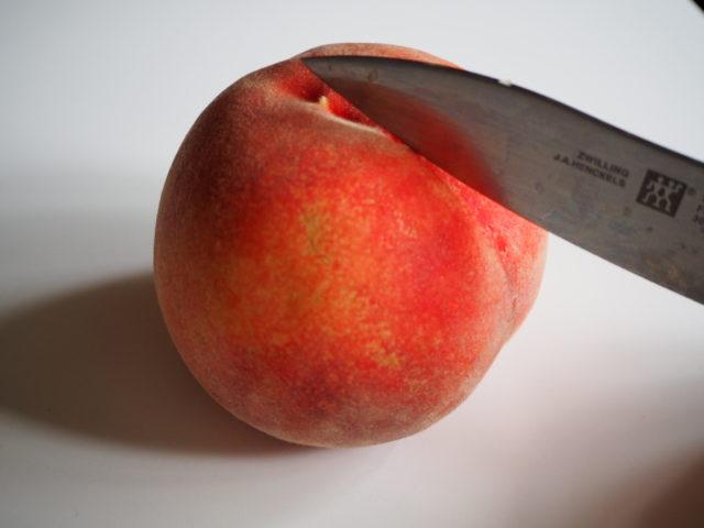 peach cut