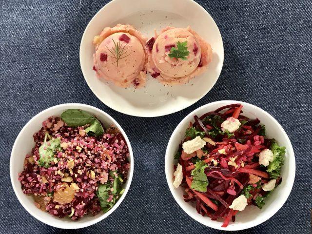 3種類のサラダ