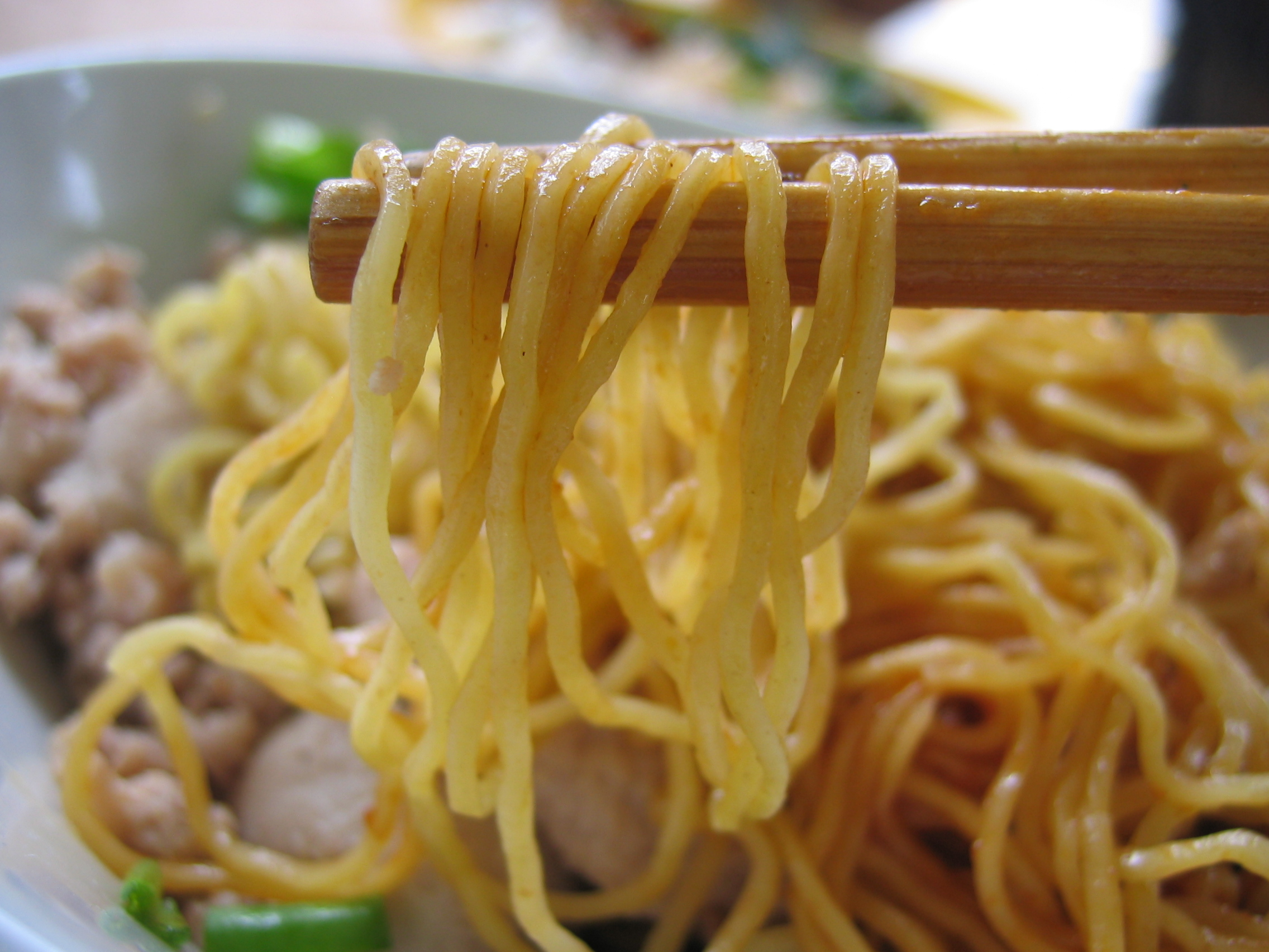 minced meat noodles 004