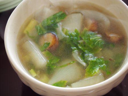 根菜スープお椀