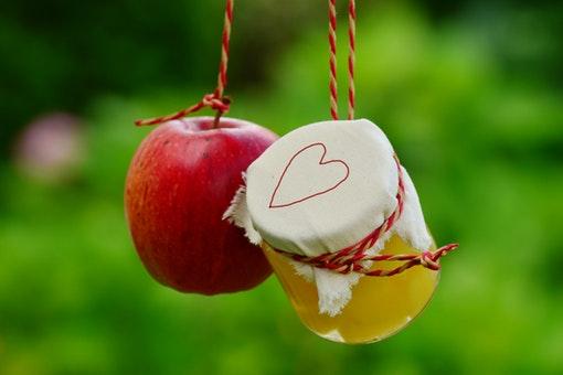 アップルソースとりんご