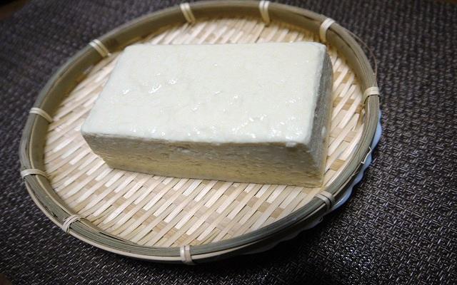 豆腐冷ややっこ 常温に放置