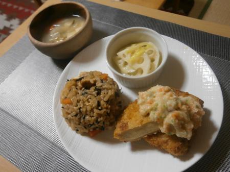 高野豆腐カツプレート