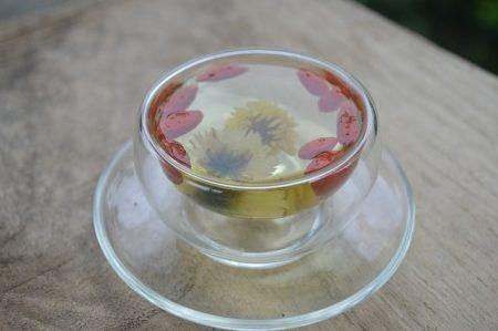 クコと菊花