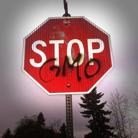 「STOP GMO」